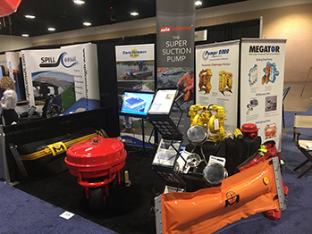 Megator and Pumps 2000 America at Clean Gulf 2016