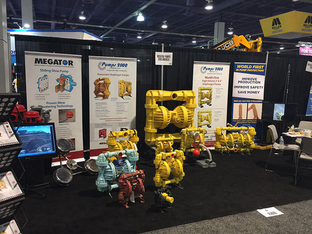 Megator and Pumps 2000 America at MineExpo 2016